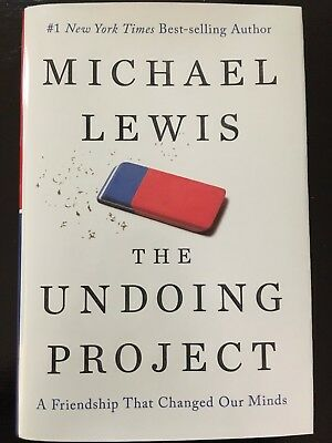 The Undoing Project by Michael Lewis 2017 Hardcover - Dust Jacket NEW