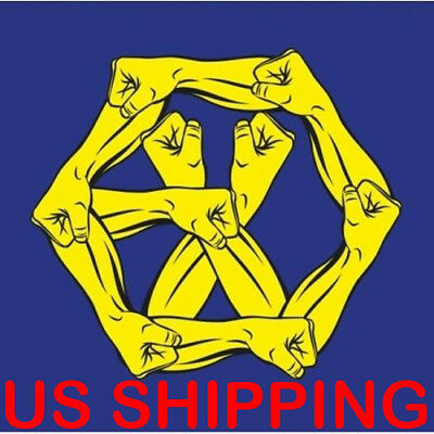 US SHIPPING EXO-The WarThe Power Of Music4th Repackage KR CD-Poster-StoreGift