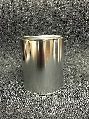 QUART SIZE EMPTY METAL PAINT CANS WITH LIDS 12 CANS AND 12 LIDS