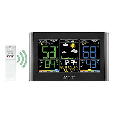 C85845 La Crosse Technology Wireless Color Weather Station with TX141TH-BV2 NIB