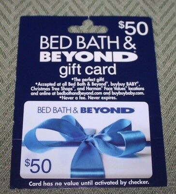 Gift Card Bed Bath and Beyond 50 Dollars
