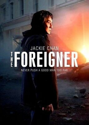 The Foreigner DVD 2017NEWJackie ChanAction PRE-ORDER SHIPS ON 010918
