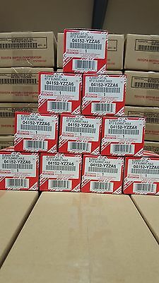 GENUINE TOYOTA OIL FILTERS 04152-YZZA6 BOX OF 10 FITS  4 CYL INCLUDES GASKETS
