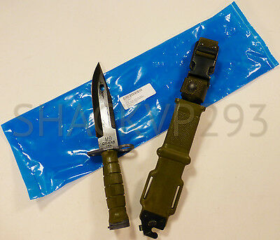 US M9BAYONET COMBAT KNIFE TRI-TECHNOLOGIES W SCABBARD USGI NEW IN PACKAGE