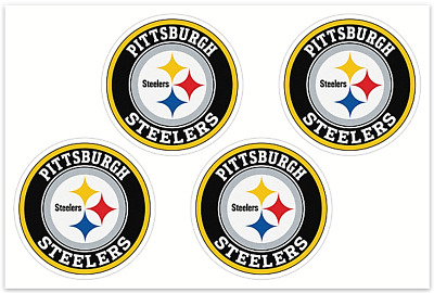 4 Pittsburgh Steelers NFL Decals  Yeti Stickers Free Shipping