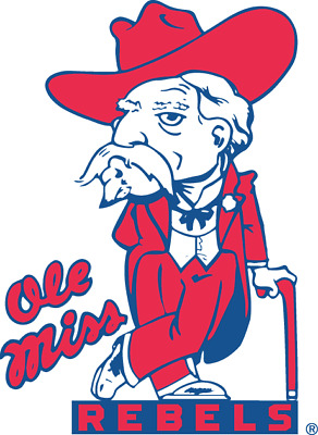 Mississippi Ole Miss Rebels NCAA Color Die-Cut Decal  Sticker Free Shipping