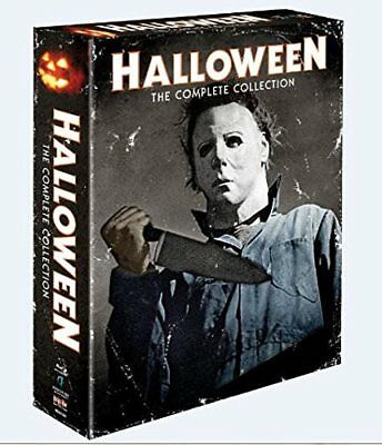 Halloween The Complete Collection Blu-ray Disc 2014 10-Disc Set