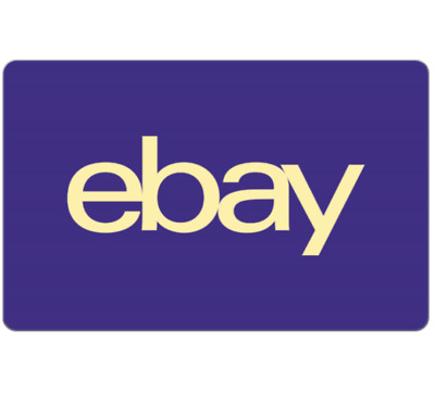 eBay Canada Gift Card 25 50 or 100 - email delivery