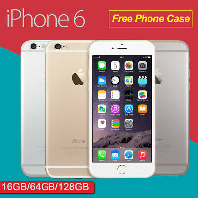 Sealed New Apple iPhone 6 16GB 64GB Plus GSM LTE 4G Unlocked Grey Gold Silver