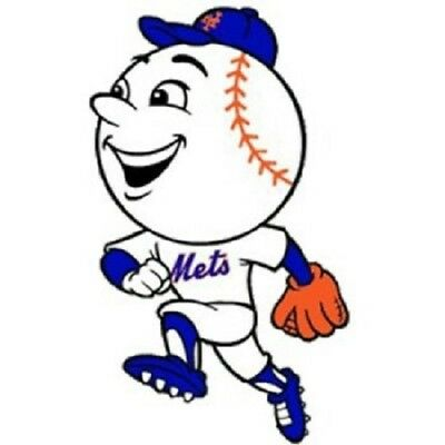 New York Mets 4 Inch MLB Color Die-Cut Decal  Yeti Sticker Free Shipping