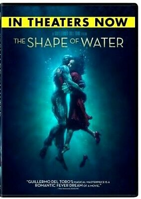 The Shape of Water DVD2017NEW Drama Romance PRE-ORDER SHIPS ON 031318