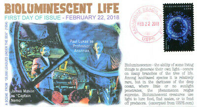 COVERSCAPE computer generated Bioluminescent Life forever UO fdc