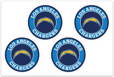 4 Los Angeles Chargers NFL Decals  Yeti Stickers Free Shipping