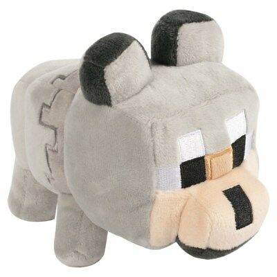 New Minecraft Happy Explorer Untamed Wolf 7 Plush Toy