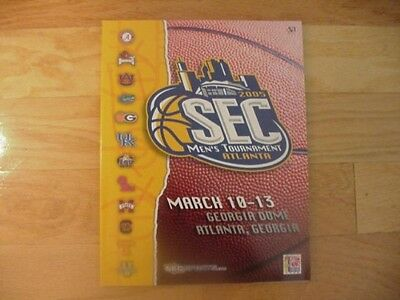 Florida Gators Win SEC Basketball Tournament Program-2005