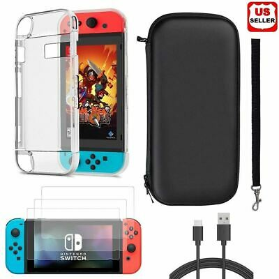 Accessories Case Bag-Shell Cover-Charging Cable-Protector for Nintendo Switch