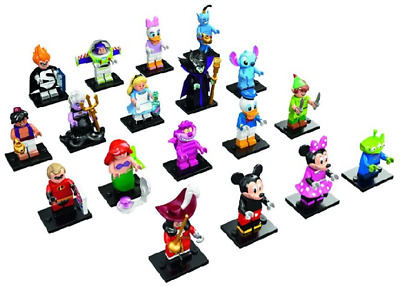 Lego 71012 DISNEY Series Minifigures New in Resealed Bag Buzz Ariel Maleficent