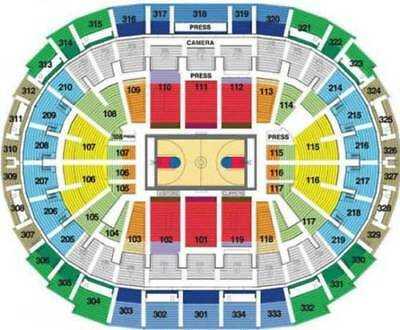 2 NCAA West Regional Final Basketball Tickets Staples LA Los Angeles 324 SAT
