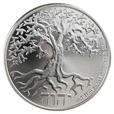 2018 Tree of Life 1 oz Silver Coin  Lot of 10 Direct From Mint Tube