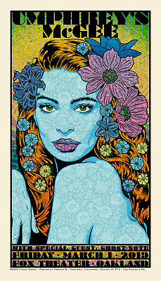 Chuck Sperry Rhyme Art Limited Edition Screen Print Poster Lady Portrait Reason