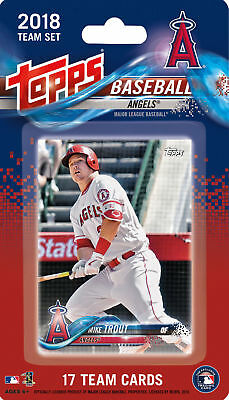 2018 TOPPS ANGELS FACTORY SEALED TEAM SET 17 SHOHEI OHTANI RC ROOKIE - TROUT