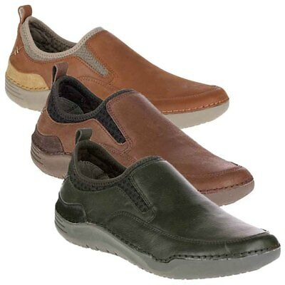 NEW Mens Hush Puppies Crofton Method Casual ShoesSlip-On - Pick Size - Color