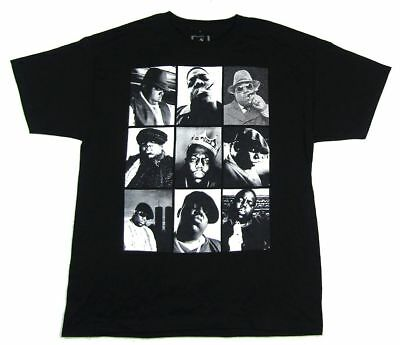 Notorious BIG Nine Photos Black T Shirt New Official Merch Biggie Smalls