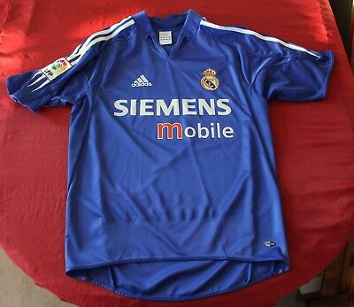 Adidas Real Madrid 0405  Galácticos Football Soccer Shirt Jersey Small La Liga