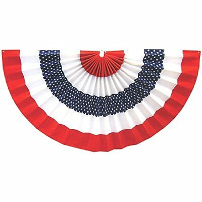 Fourth of July Party Large Star Bunting Banner Decoration  36 x 72 411149