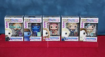 AUTOGRAPHED signed FUNKO POP VINYL LIMITED EDITION SET FIVE WONKA KIDS - XTRAS