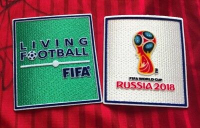 SALE SET Russia 2018 World Cup Soccer Football Iron On Embroidered Patch Badge