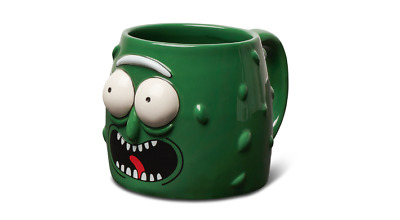 RICK AND MORTY Primitive Skateboards Pickle Rick Molded Coffee Mug