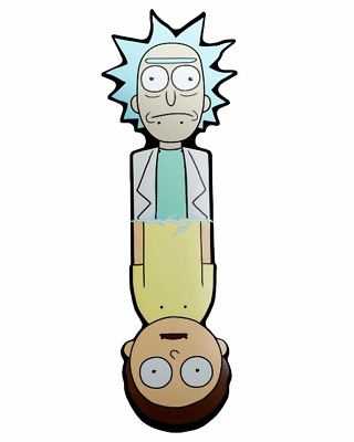 RICK AND MORTY x Primitive Skateboards Adult Swim Series Shaped Cruiser Deck