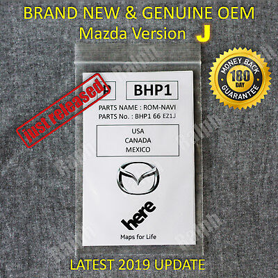 Latest 2019 2018 2017 MAZDA GPS Navigation SD Card BHP166EZ1H Mazda 3 6 CX-3 CX5
