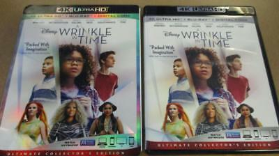 A Wrinkle in Time Blu-ray 4K UHD 2018 Single Disc Never Viewed Quick Ship