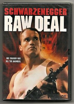 Raw Deal - DVD - Arnold Schwarzenegger - Rare - New and Sealed