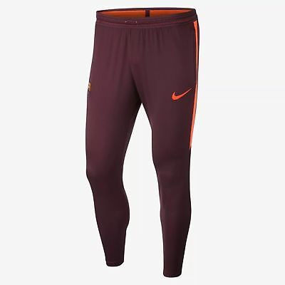 Nike Flex FC Barcelona Strike Soccer Pants Tapered Cuffed Pockets Small 858409