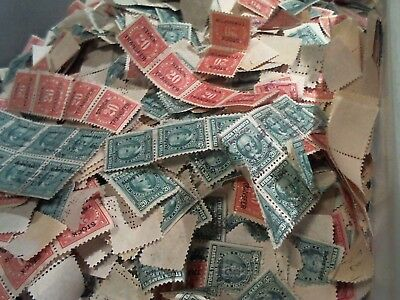 US stamps REVENUES stock transfer greens red stockdocs over 500000 stamps