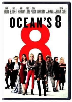 OCEANS 8 DVD2018 NEW Action Comedy Crime  PRE-ORDER SHIPS ON 091118