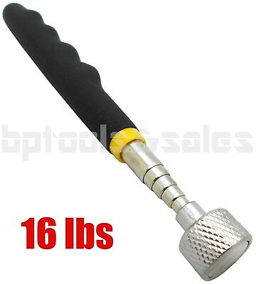 16LB TELESCOPING MAGNETIC PICK UP TOOL STAINLESS STEEL 25-5 EXTENSION HEAVYDUTY