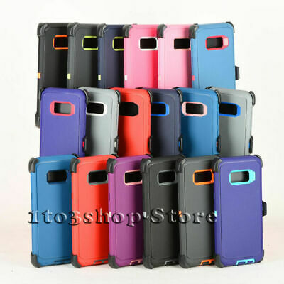 Samsung Galaxy S8 or Galaxy S8- Plus Case wHolster Clip Fits Otterbox Defender