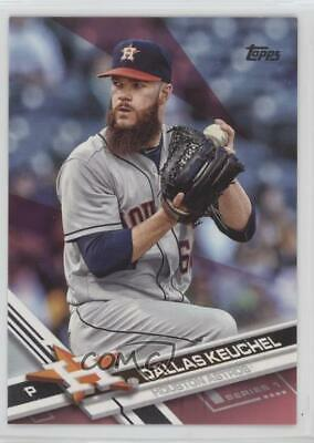 2017 Topps Hot Pink Mothers Day50 275 Dallas Keuchel Houston Astros Card