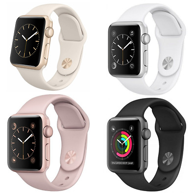 Apple Watch Generation 1 38 42mm Aluminum Stainless Steel Sport Band Smart Watch