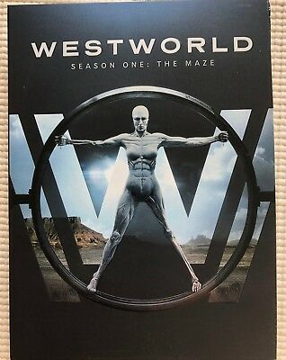 Westworld The Complete First Season DVD 2017 The Maze TV science fiction