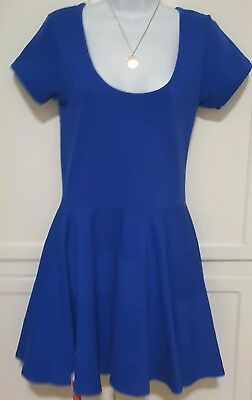 NWT SASS AND BIDE ROYAL BLUE KATE MIDDLETON STYLE BEAUTIFUL STRUCTURE SIZE SM