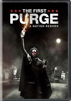THE FIRST PURGE 2018 DVD NEW Horror Thriller  PRE-ORDER SHIPS ON  100218