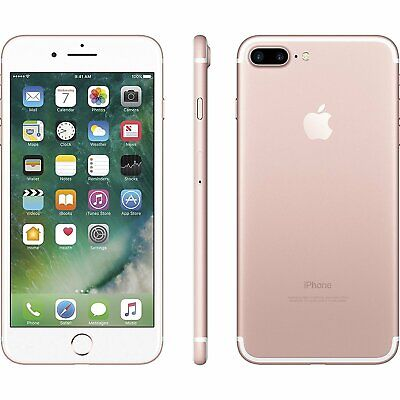 Apple iPhone 7 Plus 5-5 128GB ROSE GOLD GSM Unlocked AT-T T-Mobile Smartphone
