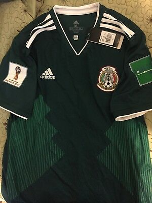 Mexico Home  Jersey 2018 World Cup