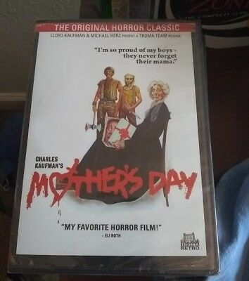 Mothers Day DVD 1980 Horror Movie New Sealed Troma Authentic Region 1 U-S-