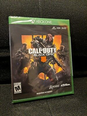 Call of Duty Black Ops 4 Microsoft Xbox One 2018  Brand New and Sealed